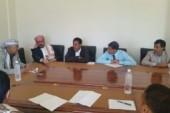 لجنة برلمانية تتفقد اوضاع السجون بمحافظة حجة