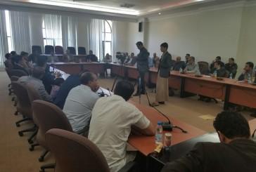 وزير الإعلام يلتقي مراسلي الوكالات والقنوات والوسائل الإعلامية العربية والأجنبية
