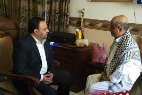 رئيس المجلس السياسي الأعلى يزور اللواء صالح الوهبي