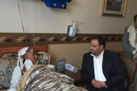 رئيس المجلس السياسي الأعلى يزور الشيخ ذياب أحمد ذياب