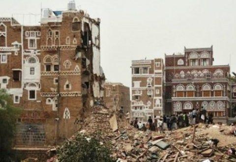 تقرير جديد يكشف حجم الدمار في صنعاء وتكلفته