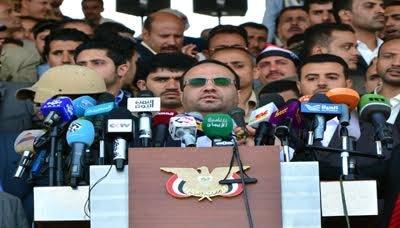 خلال حشد استفتائي شعبي: الرئيس يدعو للتعاطي مع الواقع الجديد ويوجه الوفد الوطني بمقاطعة المبعوث الدولي